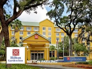 Hilton Garden Inn en Dania Beach -parking