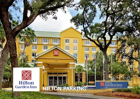 Hilton Garden Inn en Dania Beach -parking