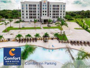 comfort inn parking