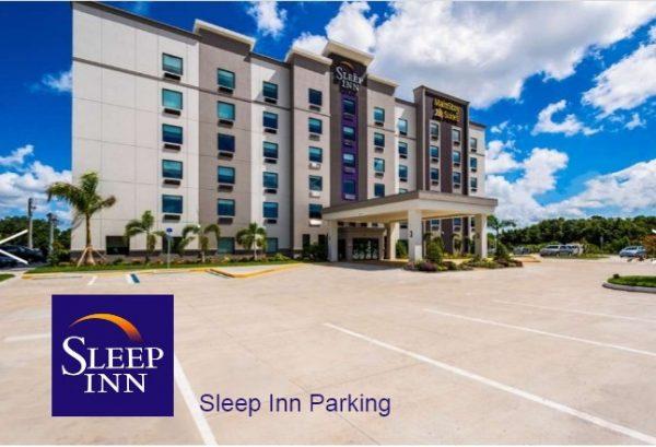 sleep Inn Parking 600x409 - Sleep Inn Hotel Parking